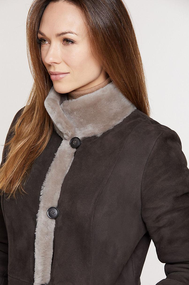 Katherine Spanish Merino Shearling Sheepskin Coat