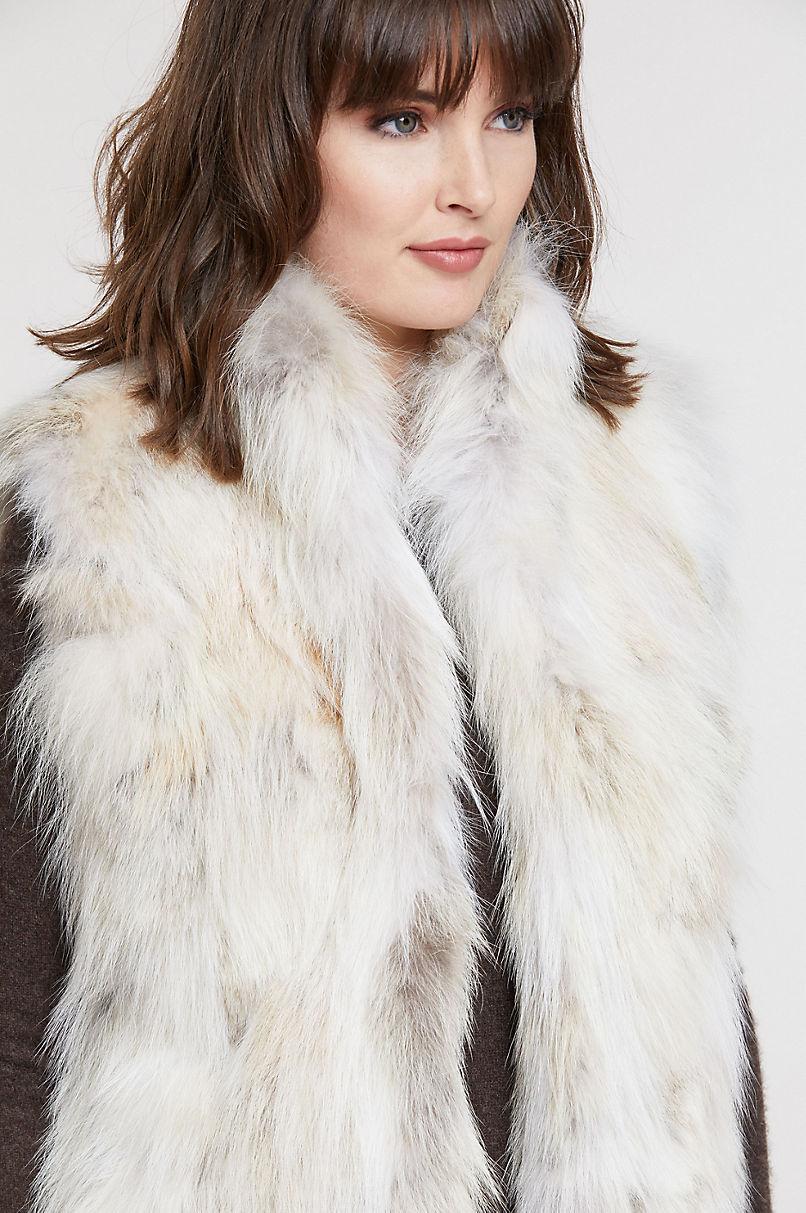 Crishelle Coyote Fur Vest
