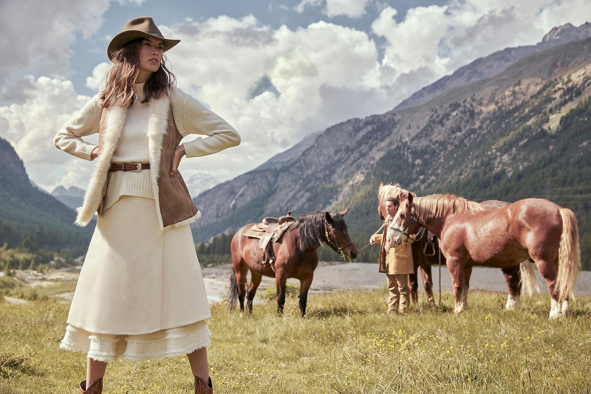 Iris Toscana Sheepskin Vest
