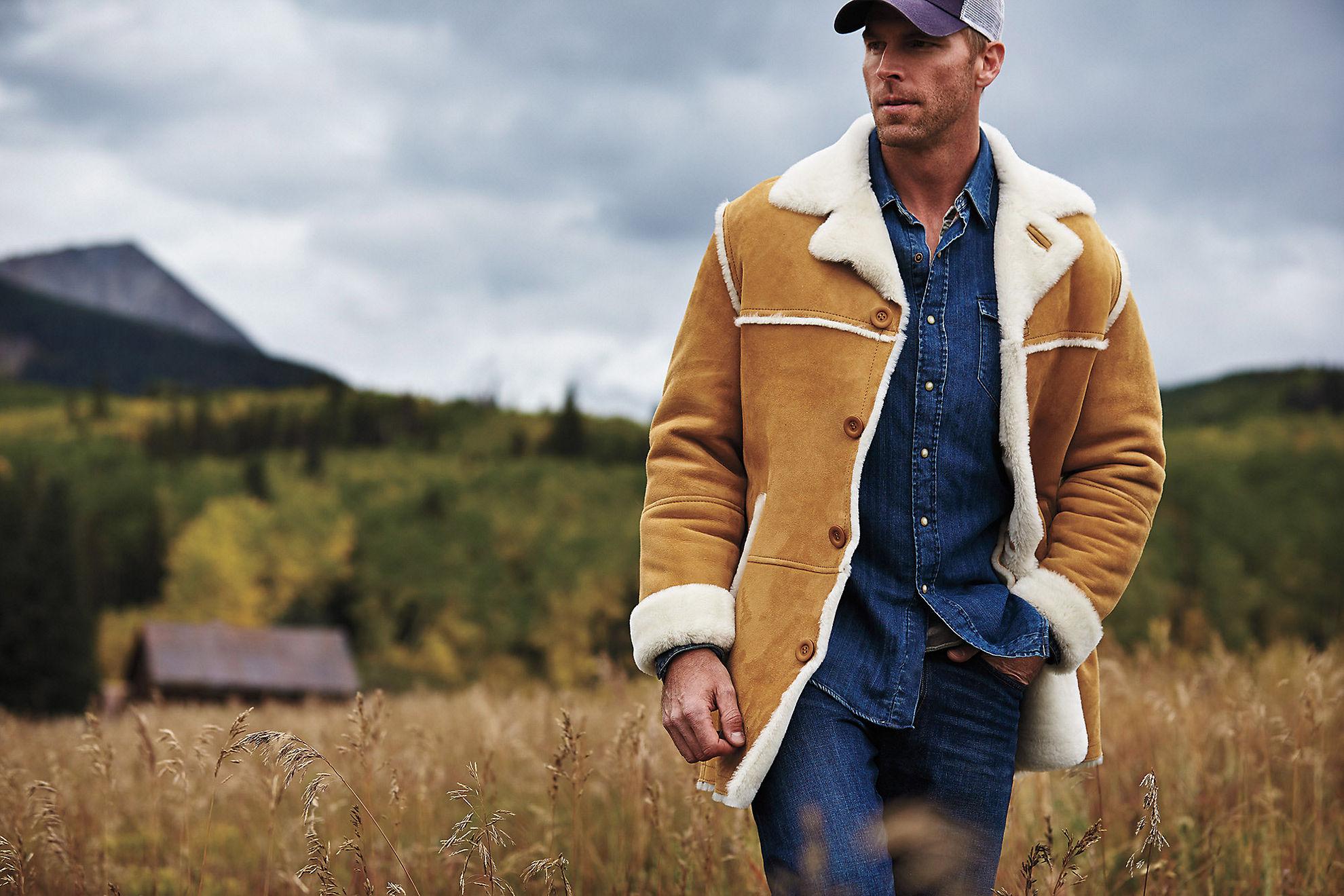 El Dorado Shearling Sheepskin Coat