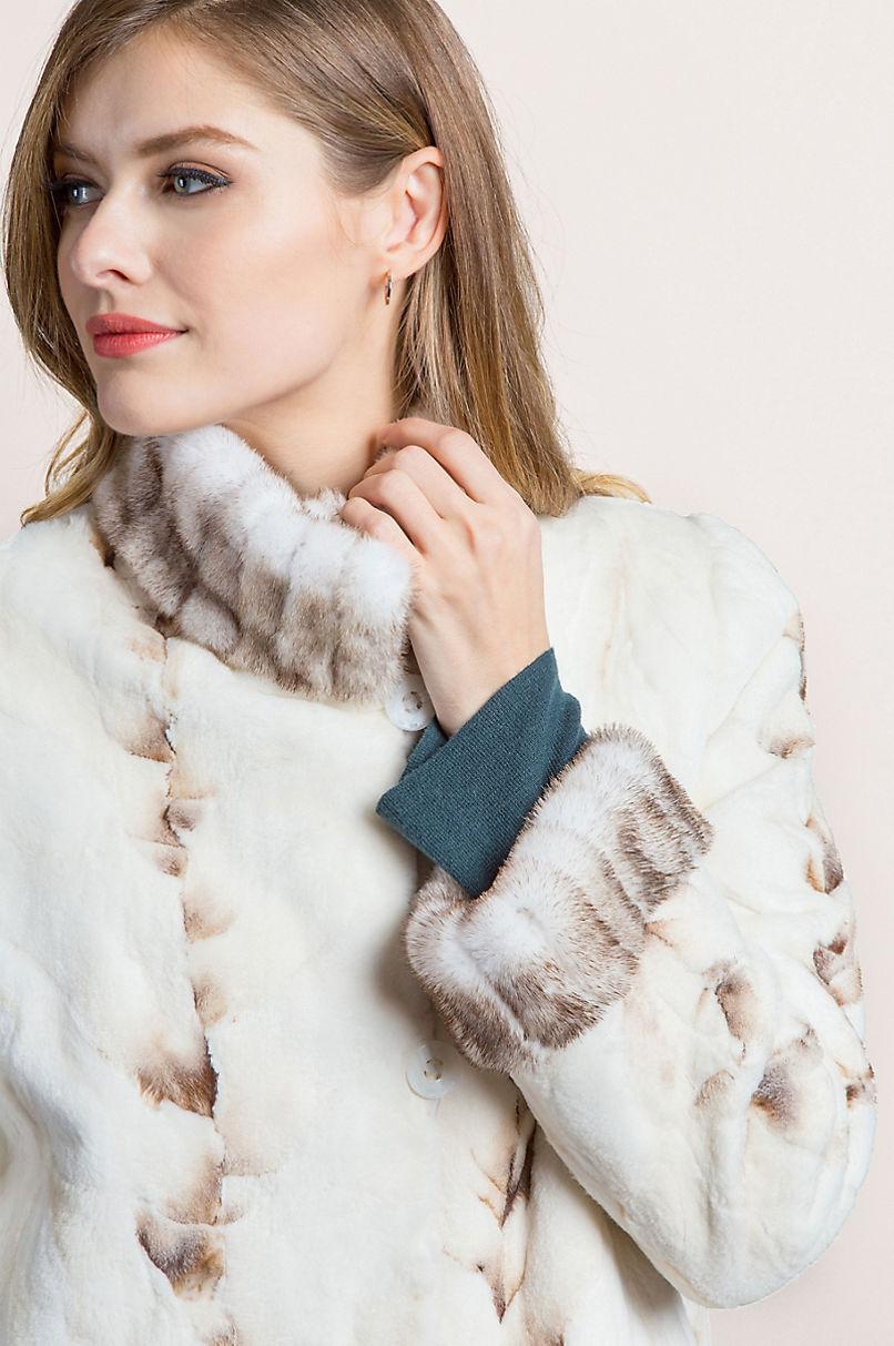Kaitlyn Reversible Mink Fur Coat