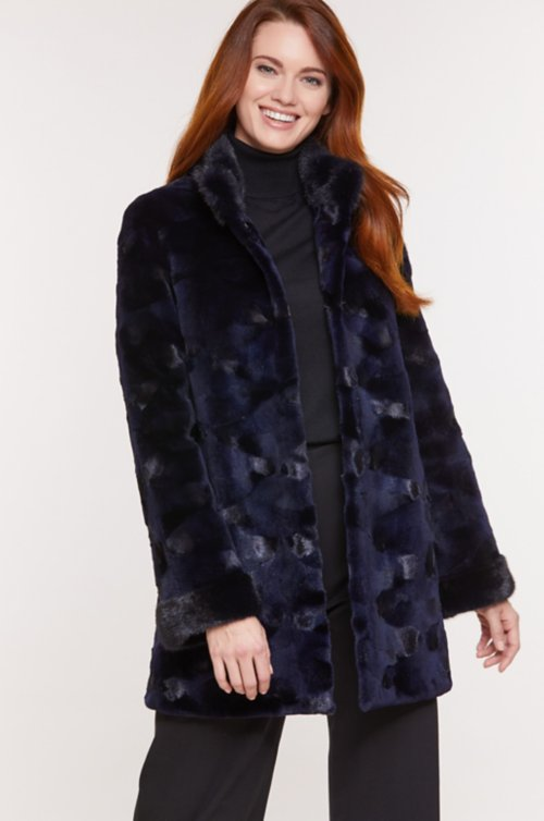 Kyla Danish Mink Fur Coat