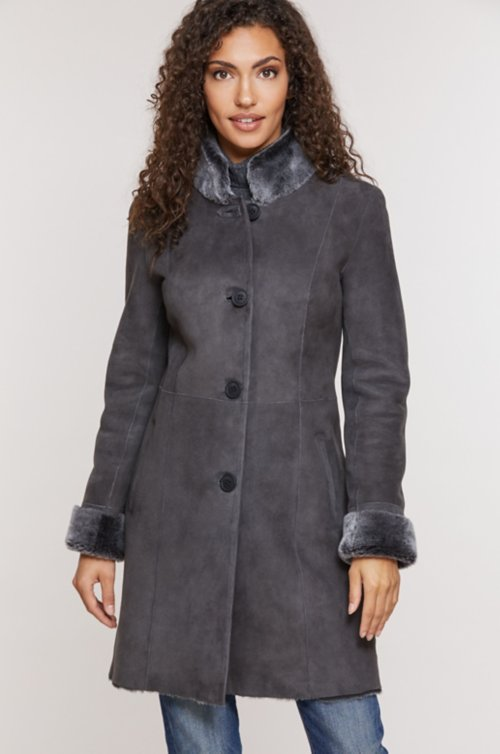 Justine Spanish Shearling Sheepskin Coat