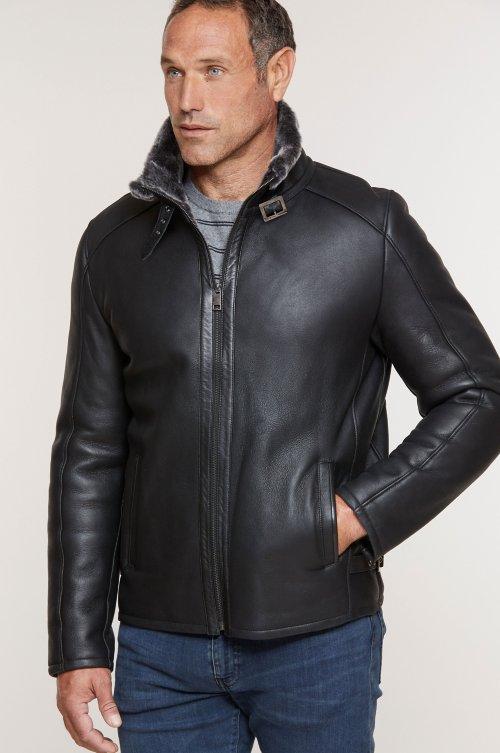 Lance Spanish Shearling Sheepskin Jacket – Big (48-50)