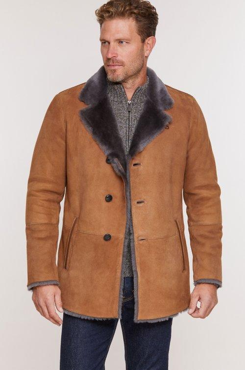 3afe3aee8 Men's Sheepskin Coats   Overland