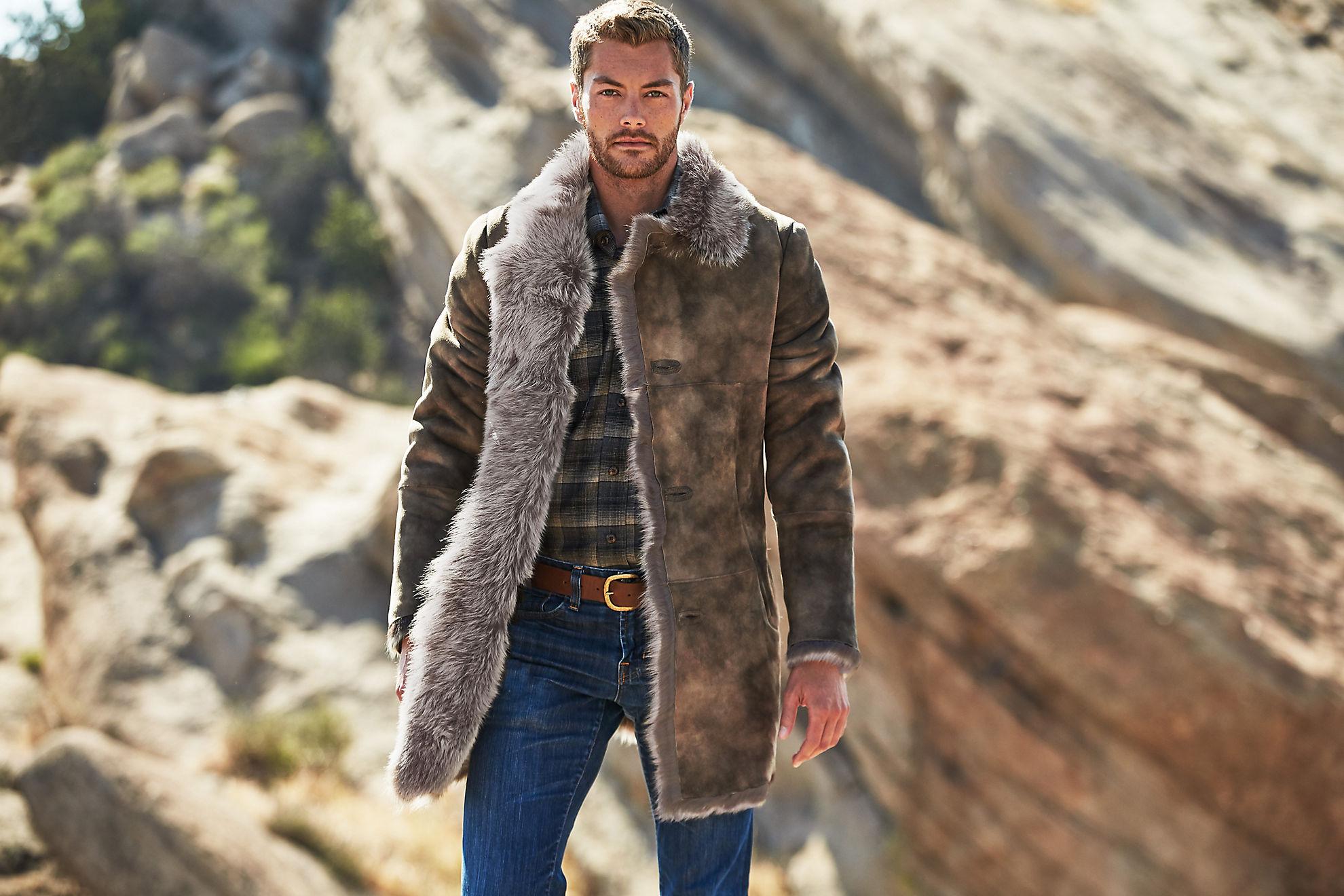 Jackson Toscana Sheepskin Coat