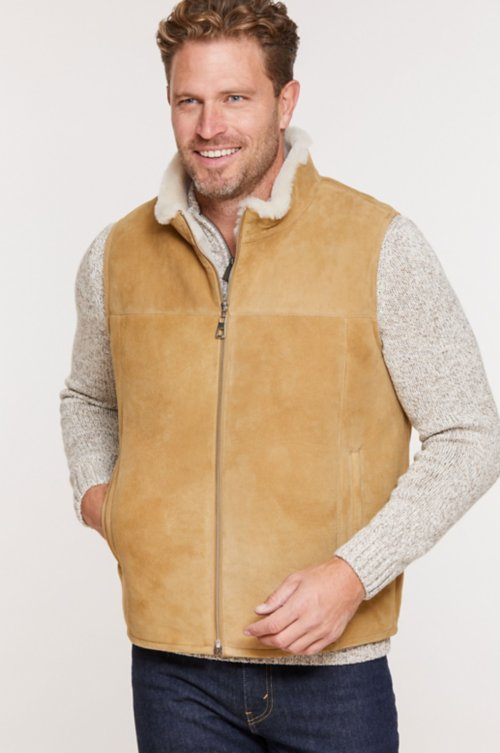 Heath Shearling Sheepskin Vest