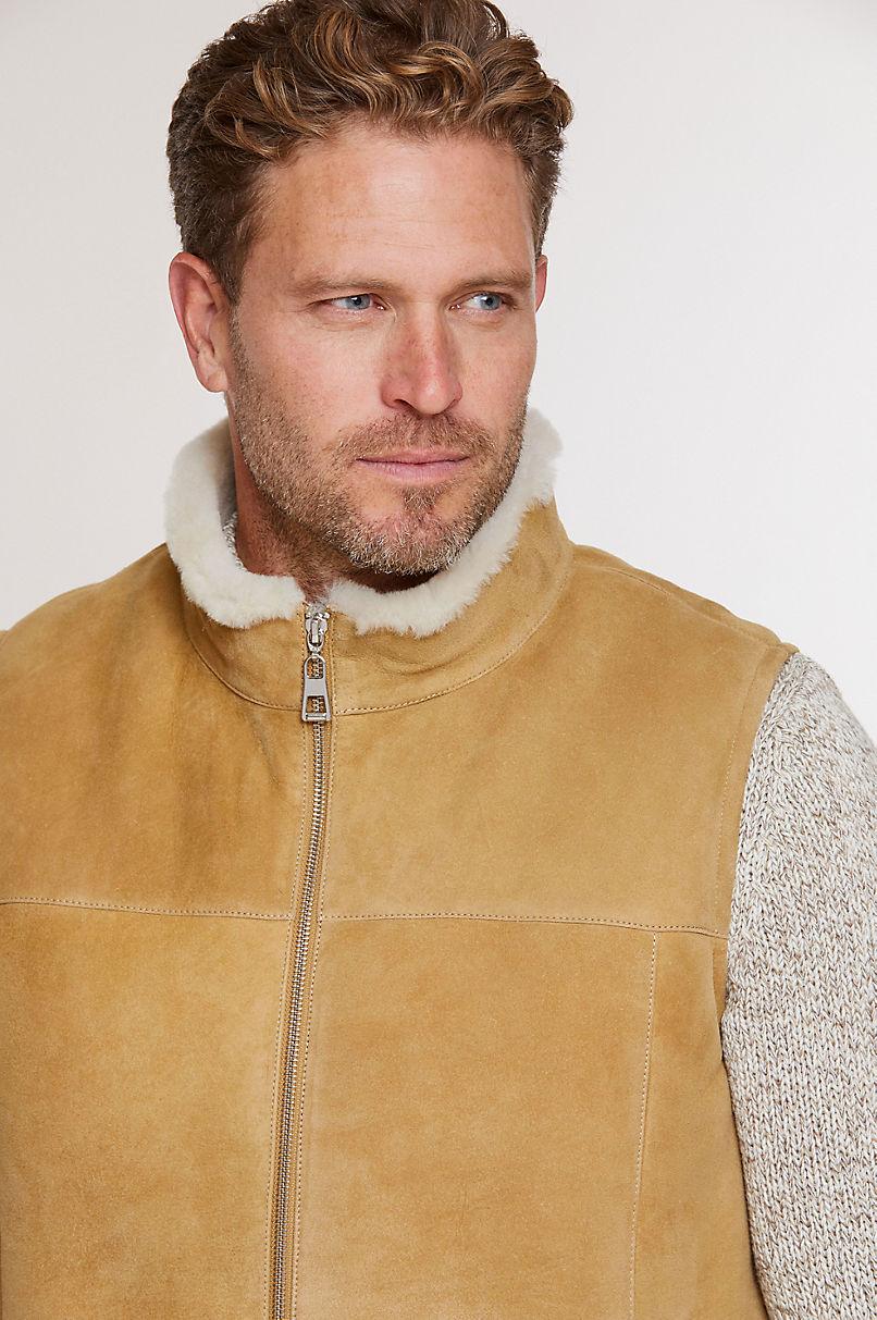 Heath Shearling Sheepskin Vest