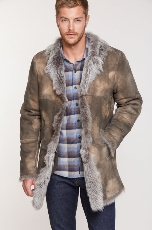 Jackson Toscana Sheepskin Coat (Big 48-56)