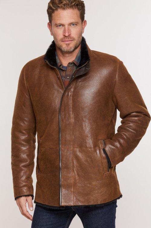 Michael Spanish Merino Shearling Sheepskin Coat