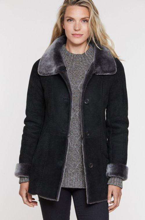 Maggie Shearling Sheepskin Coat