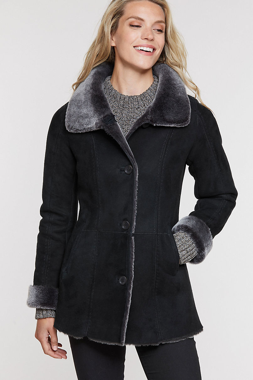 Maggie Shearling Sheepskin Coat