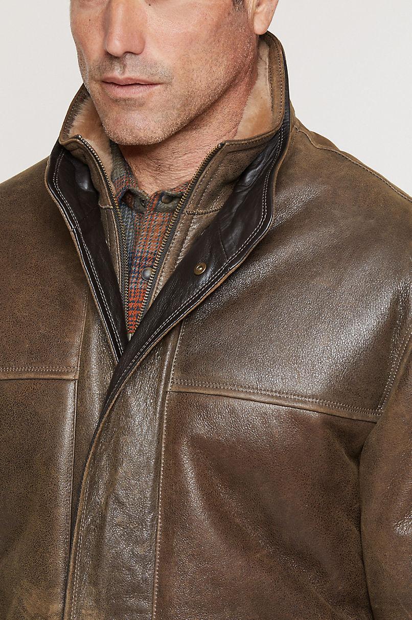 Corbin European Shearling Sheepskin Coat