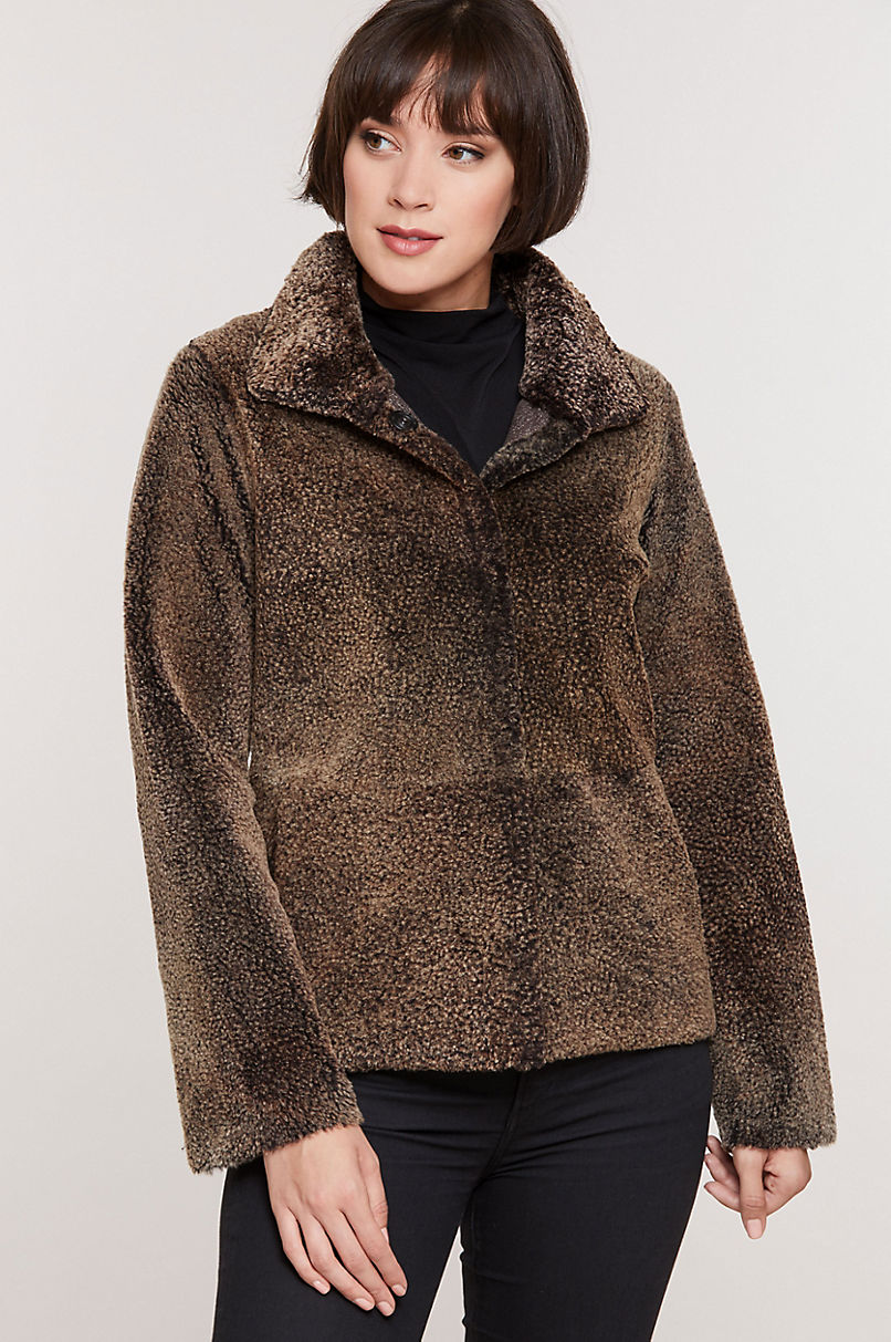 Midge Reversible Shearling Sheepskin Jacket