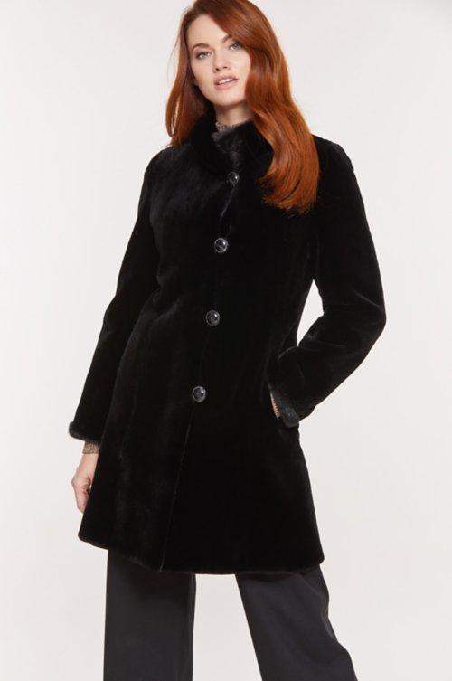 Susan Reversible Danish Mink Fur Coat