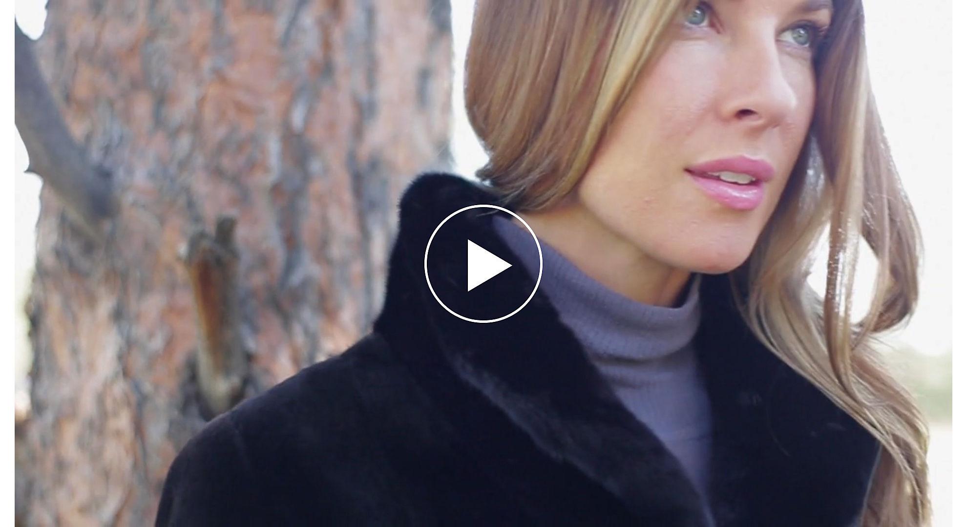 Paloma Reversible Danish Mink Fur Coat
