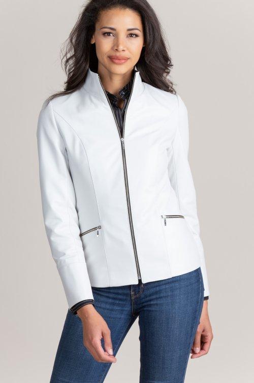 Katie Lambskin Leather Jacket