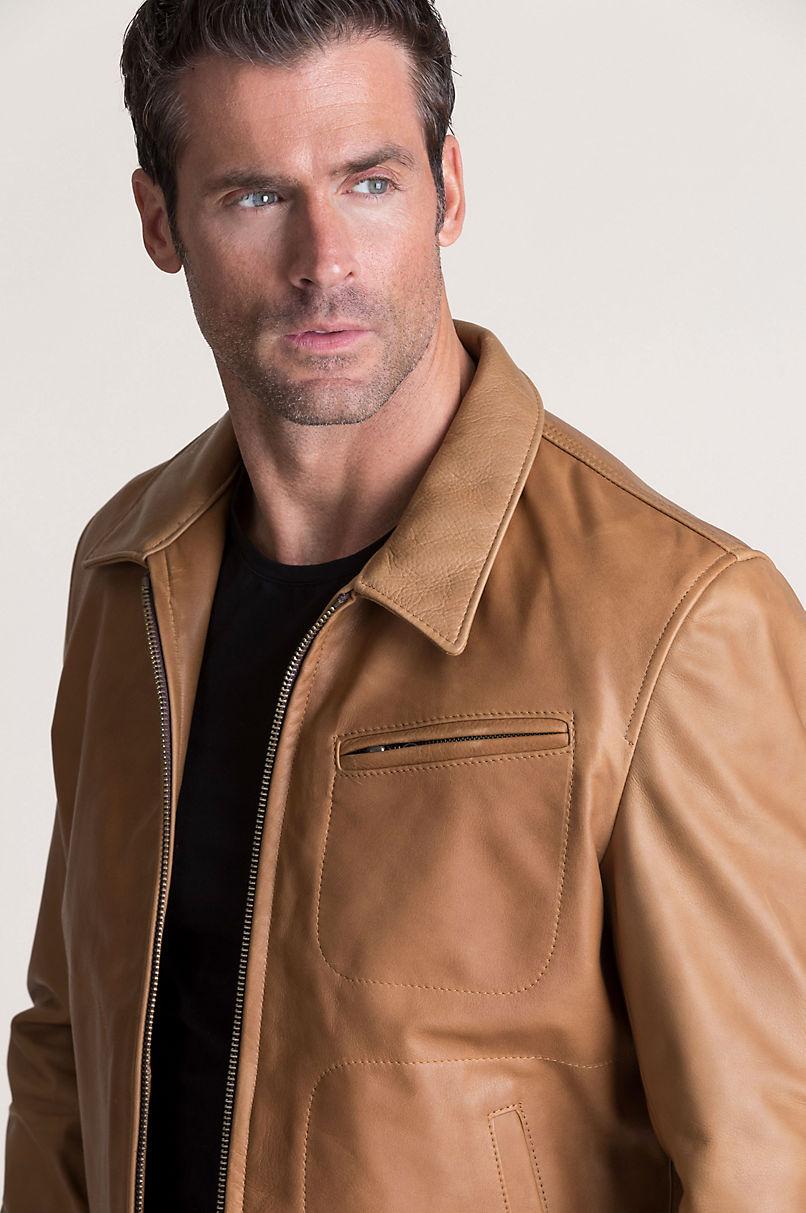 Baldwin Argentine Leather Jacket
