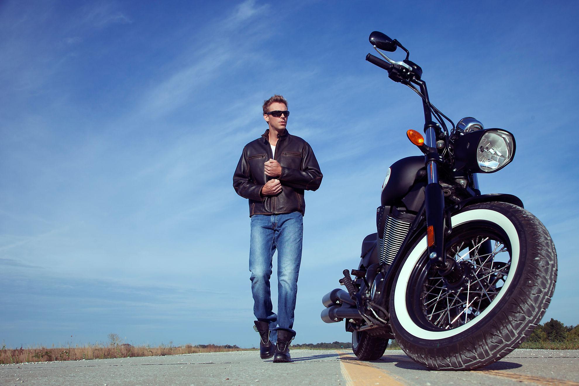 Jose Retro Cowhide Leather Motorcycle Jacket