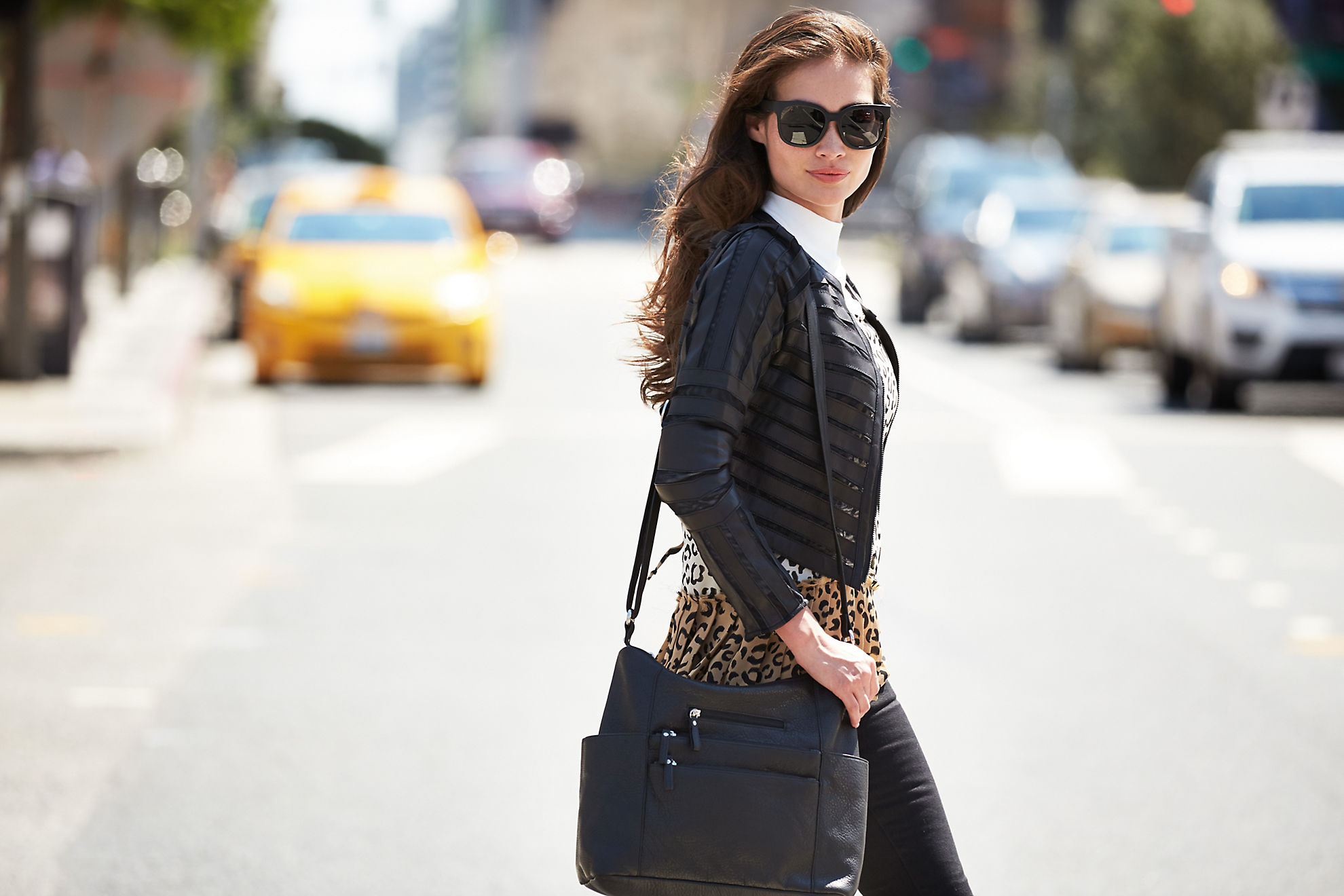 Coco Lambskin Leather Jacket