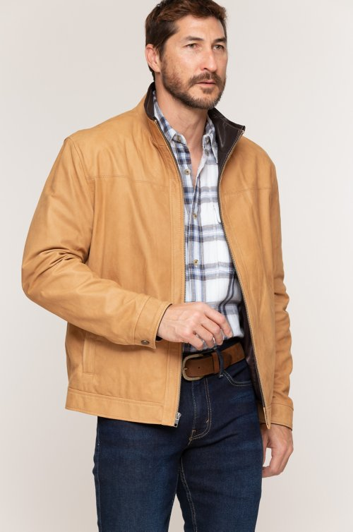 Maxwell Lambskin Leather Jacket