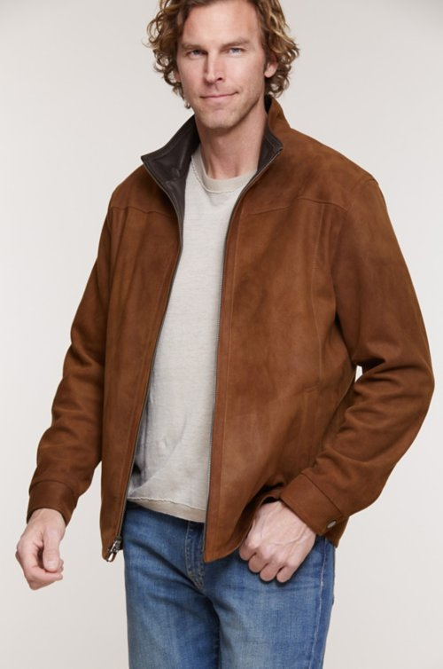 Sebastian Italian Lambskin Leather Jacket