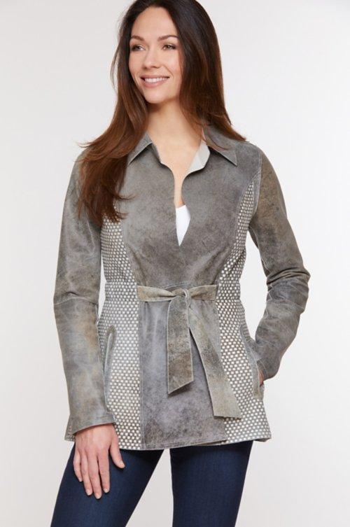 Mila Reversible Lambskin Leather Jacket
