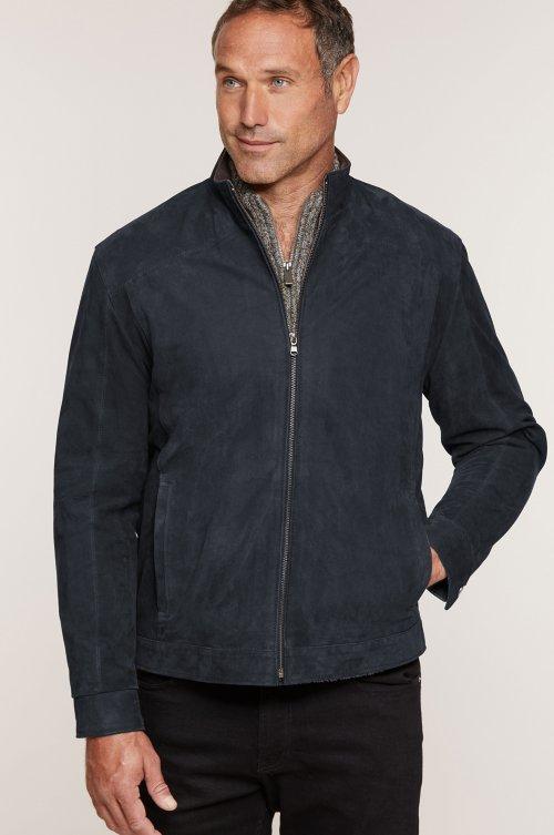 Larson Italian Calfskin Leather Jacket