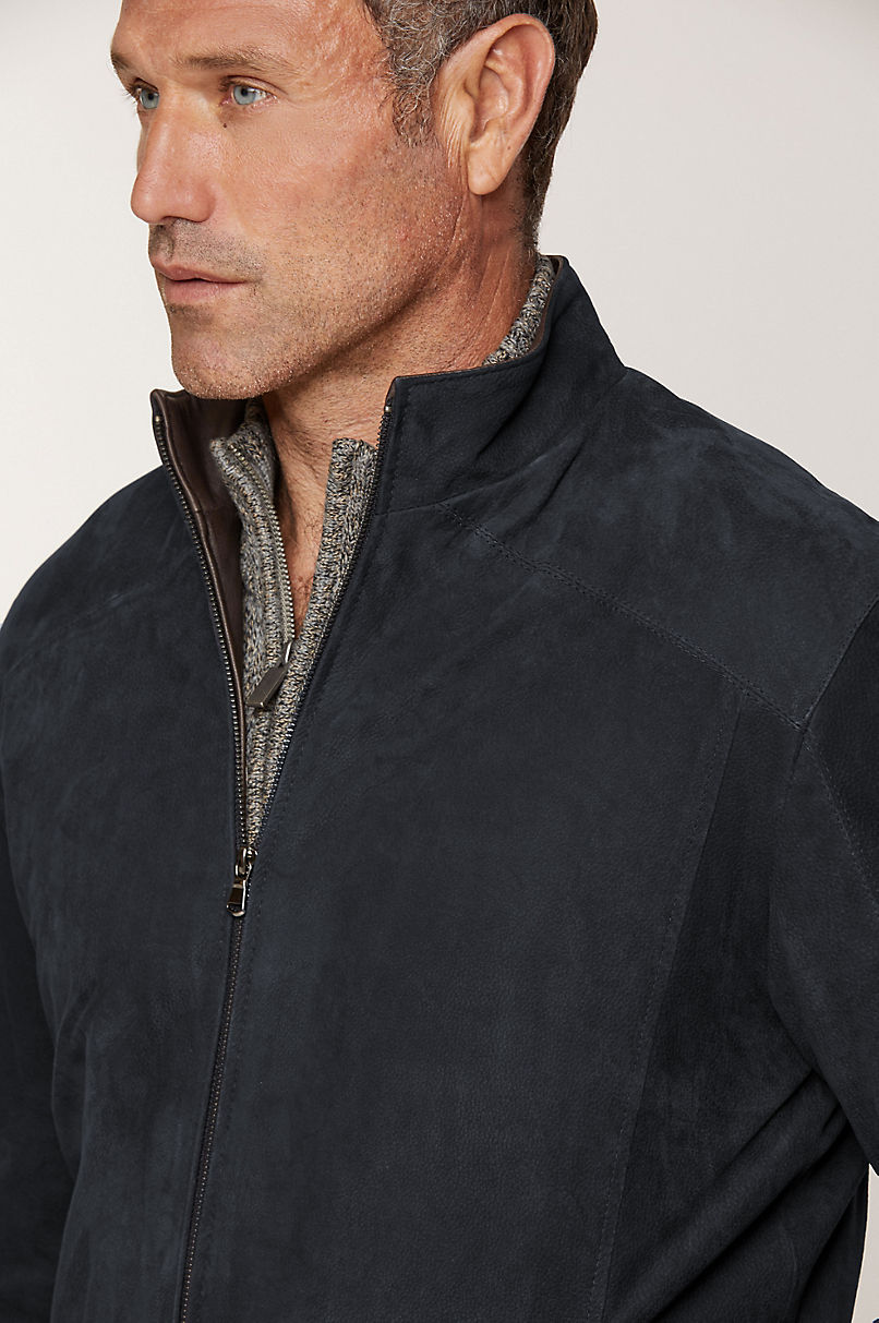Larson Italian Calfskin Leather Jacket