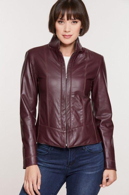 Melissa Italian Lambskin Leather Jacket
