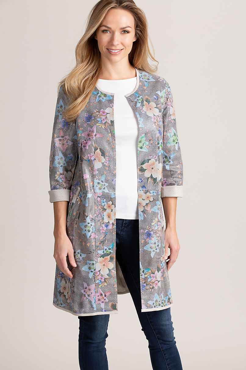 Alma Reversible Lambskin Leather Coat