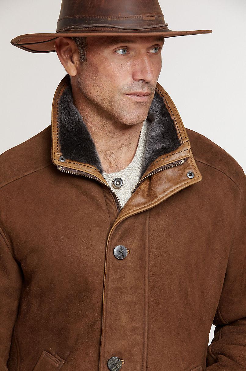McKinley Cappuccino Shearling Sheepskin Coat