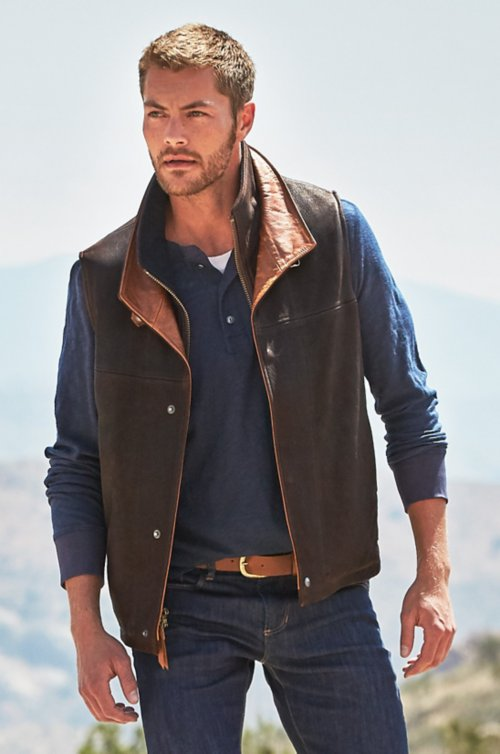 Traveler Leather Vest