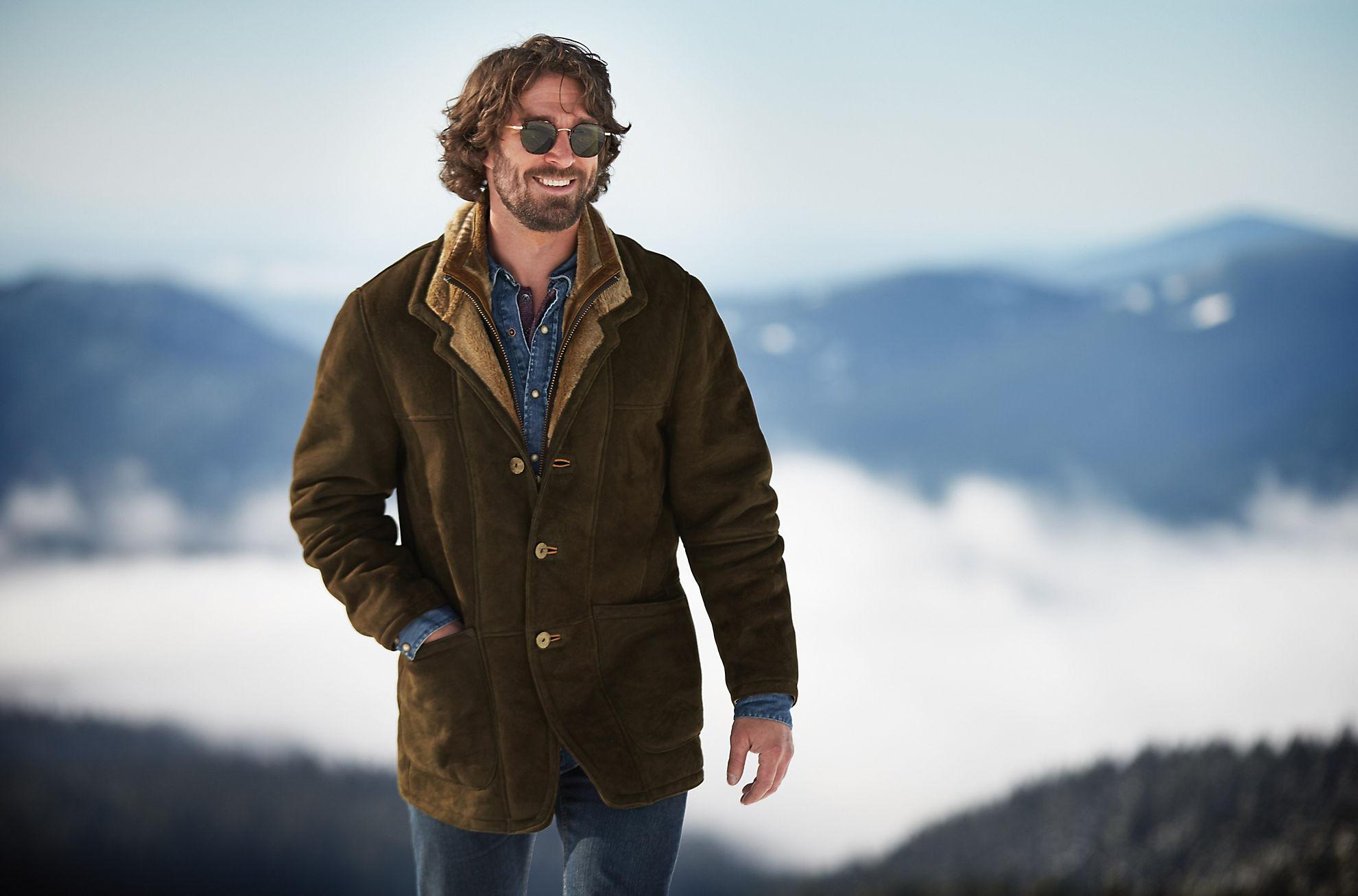 Overland Highlands Northern Merino Shearling Sheepskin Coat