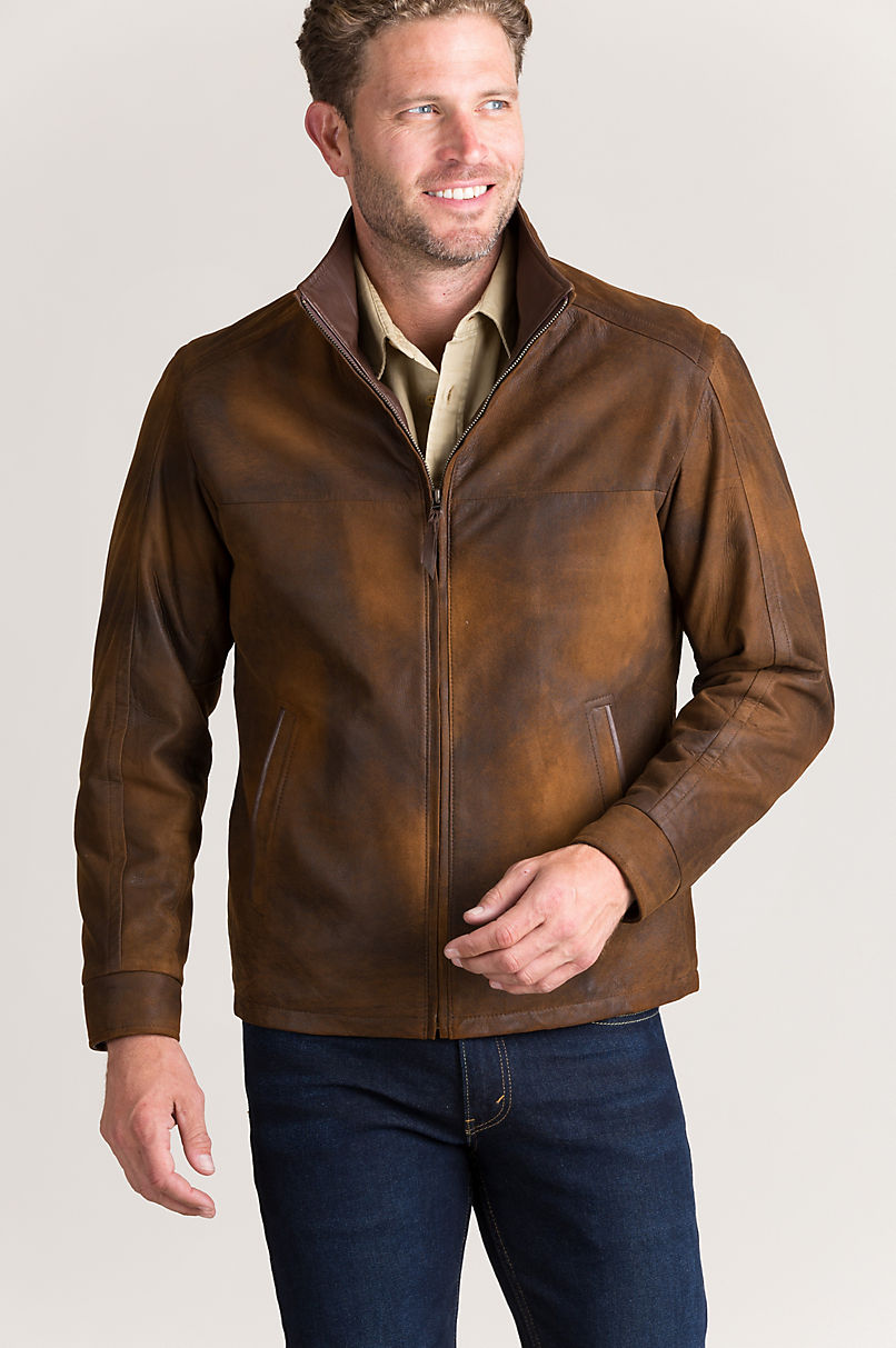 Silver Lake Spanish Lambskin Leather Jacket