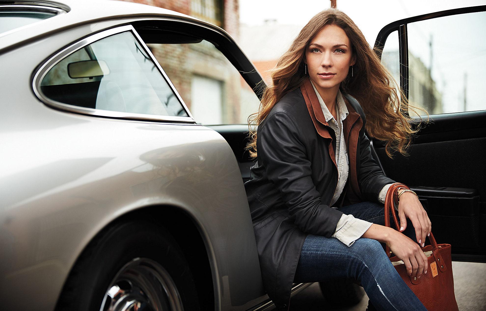 Leigh Lambskin Leather Jacket