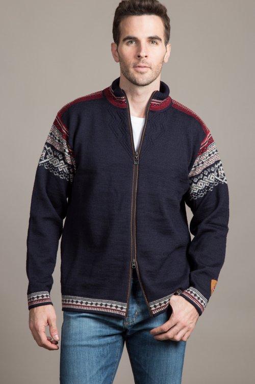 Dale of Norway Bergen Wool Sweater Jacket