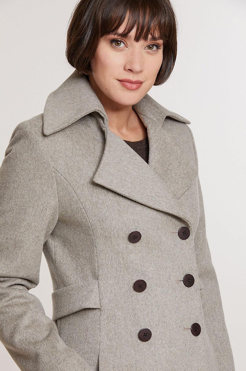 Sofia Loro Piana Wool Coat