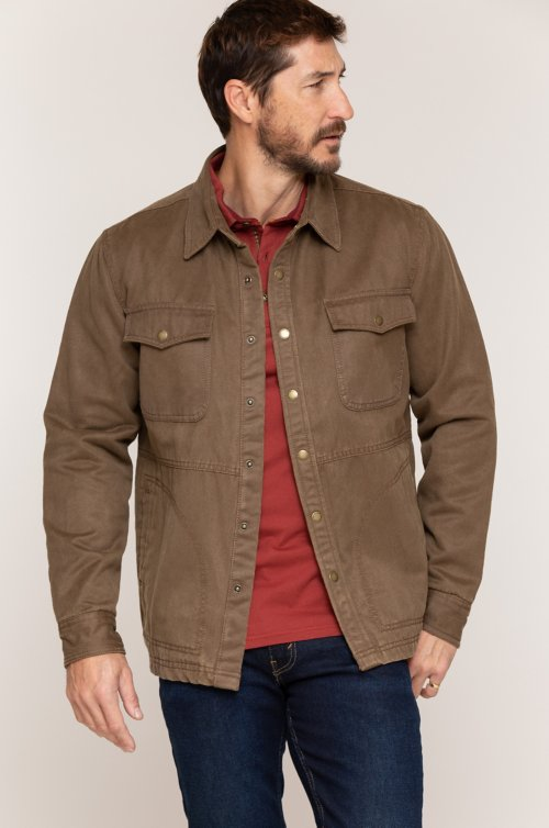 Westin Coated Cotton-Blend Jacket