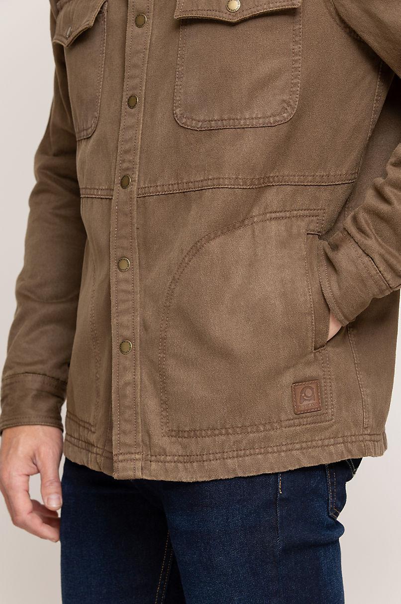 Westin Coated Cotton-Blend Jacket