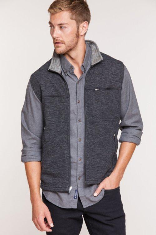 Bryson Italian Wool-Blend Fleece Vest