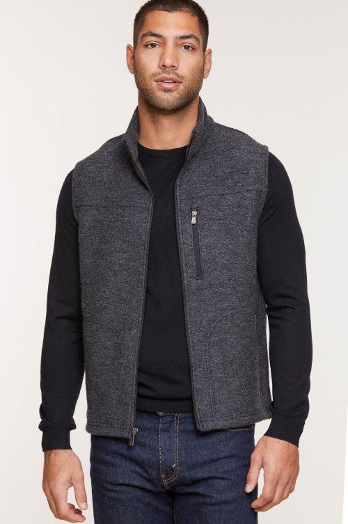 Marco Heavy Italian Wool Vest