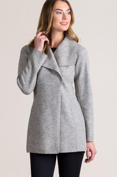 Breanne Belted Peruvian Alpaca Wool Coat