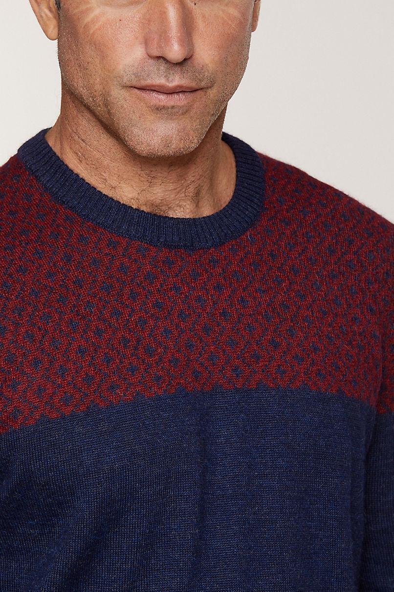 Reese Peruvian Baby Alpaca Wool Pullover Sweater