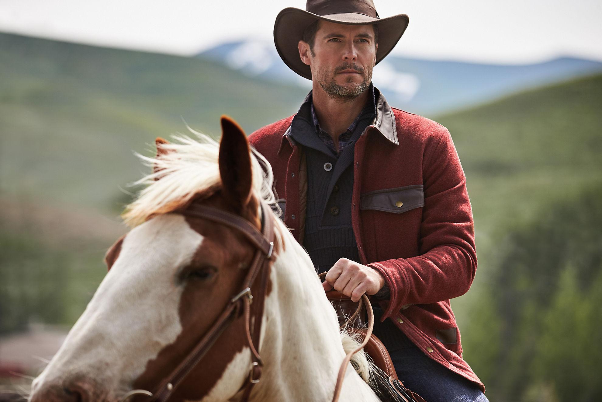 Lane Leather-Trimmed Wool Field Jacket