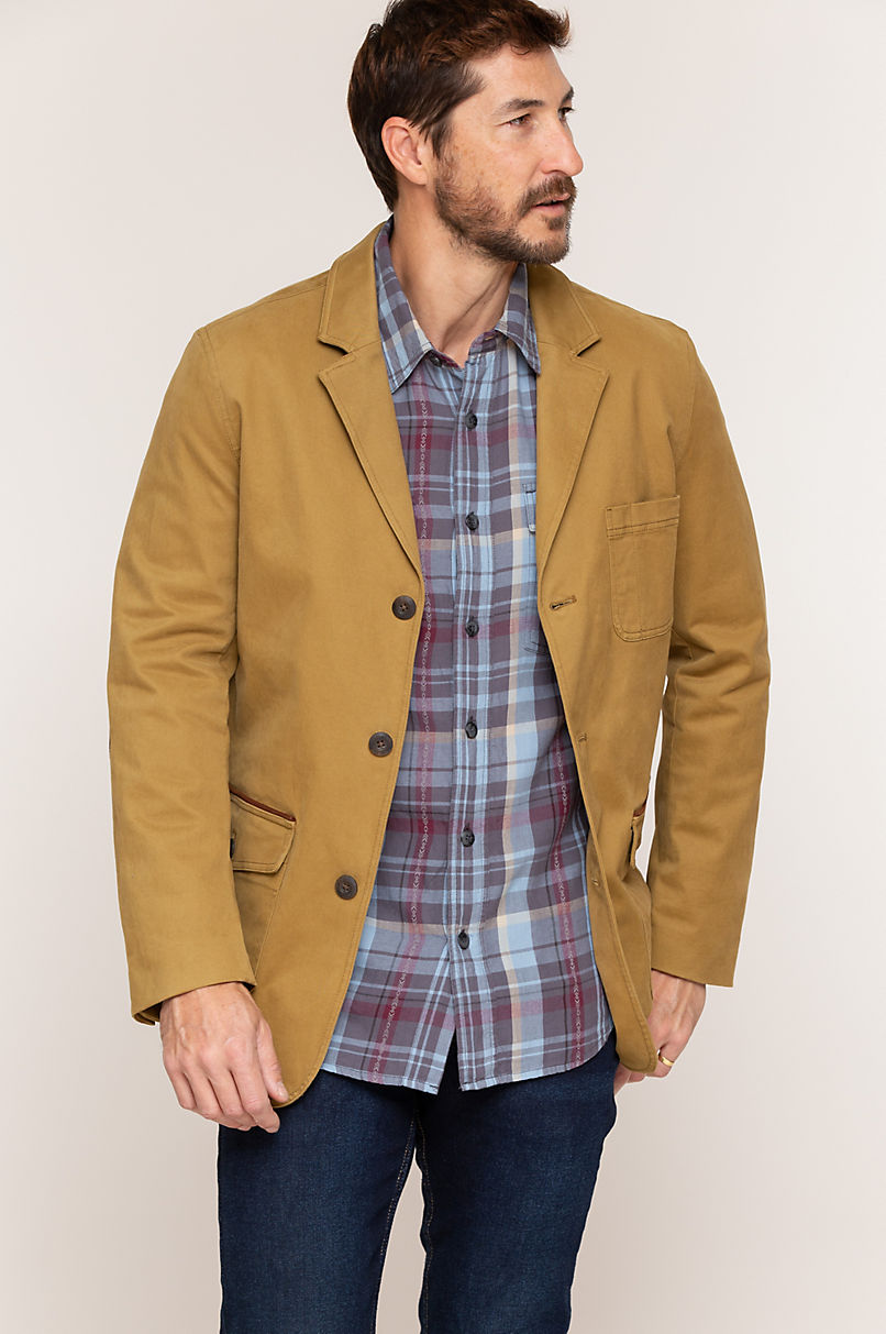 Edmund Twill Travel Blazer