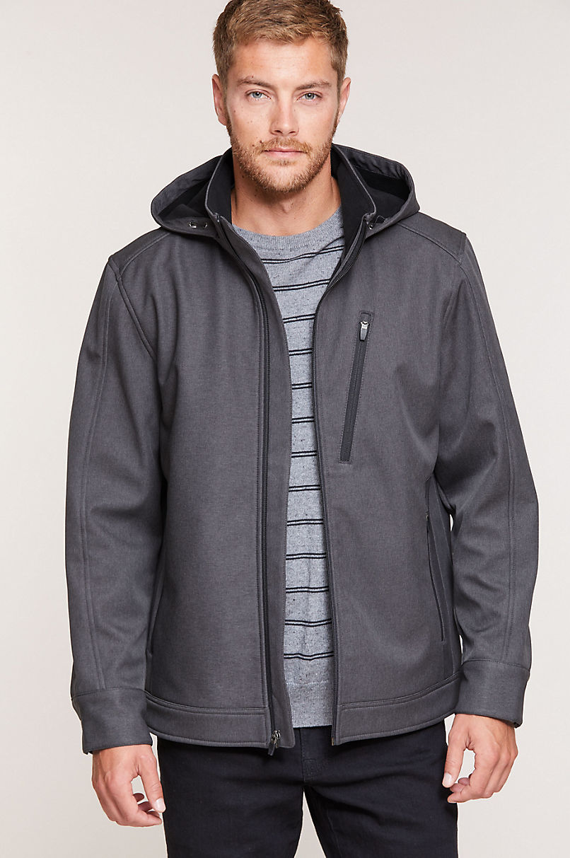 Concord Softshell Jacket with Detachable Hood