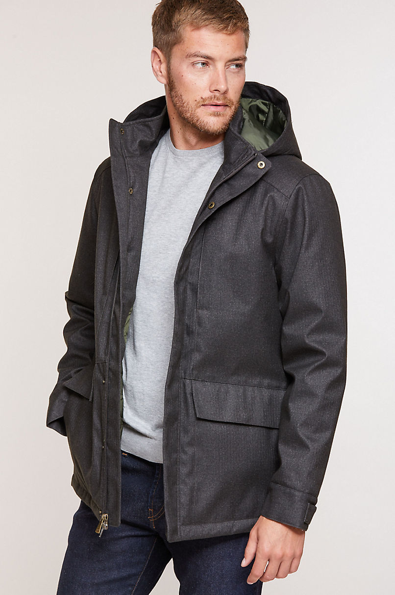 Archer Urban Coat with Detachable Hood