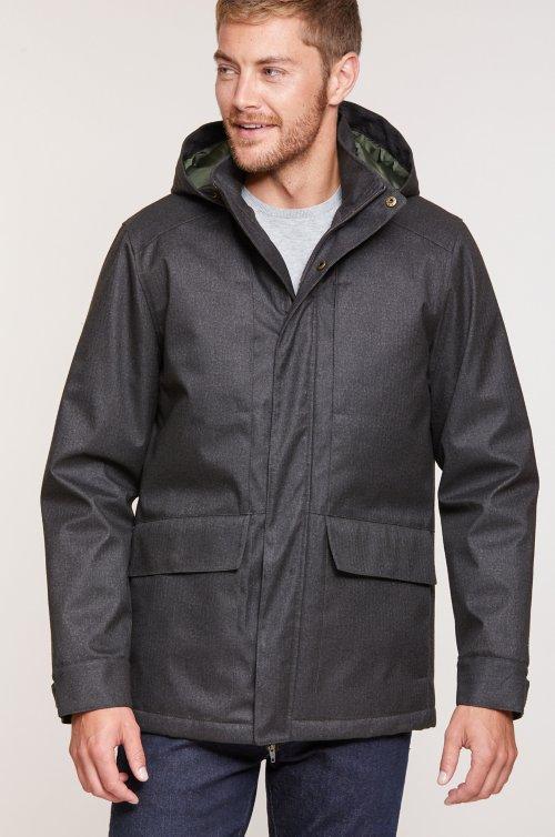 Archer Urban Coat with Detachable Hood