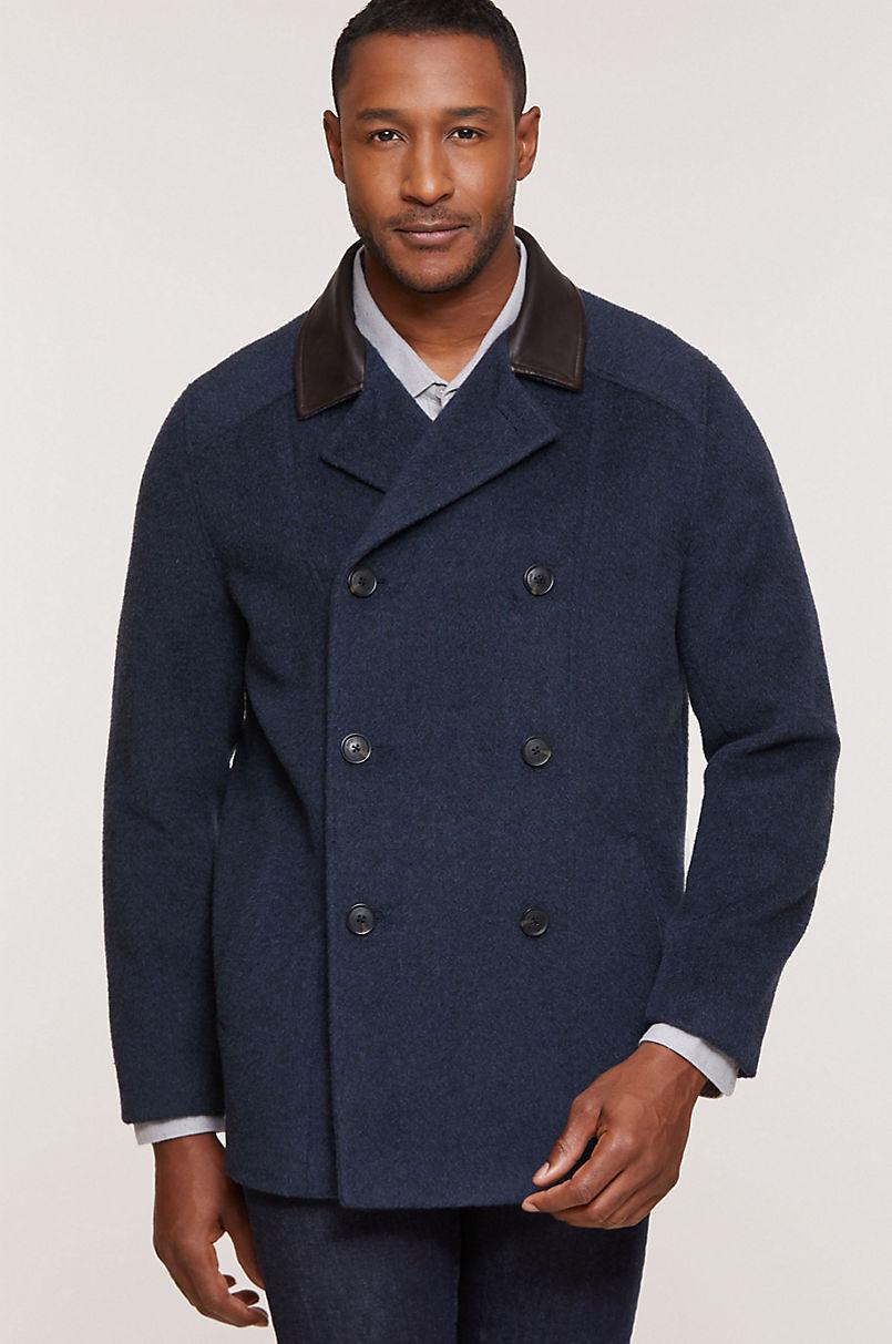 Overland Emmet Wool-Blend Pea Coat